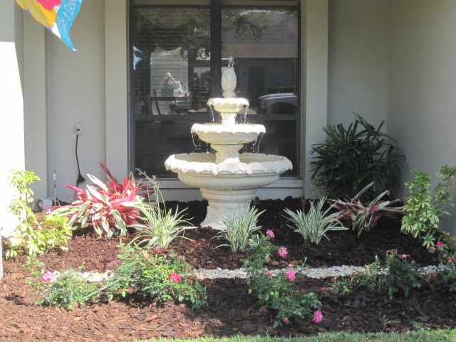 Install Landscape and Mulch